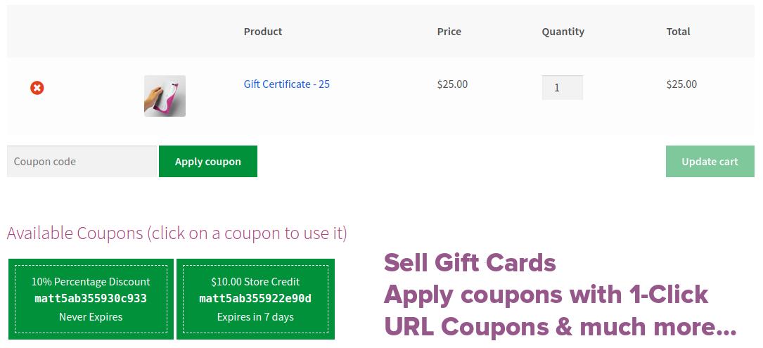 WooCommerce Smart Coupons电商网站智能优惠券