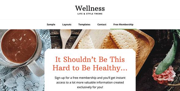 StudioPress Wellness Pro Genesis WordPress 主题