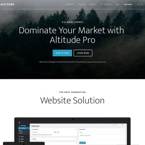 StudioPress Altitude Pro Genesis WordPress 主题