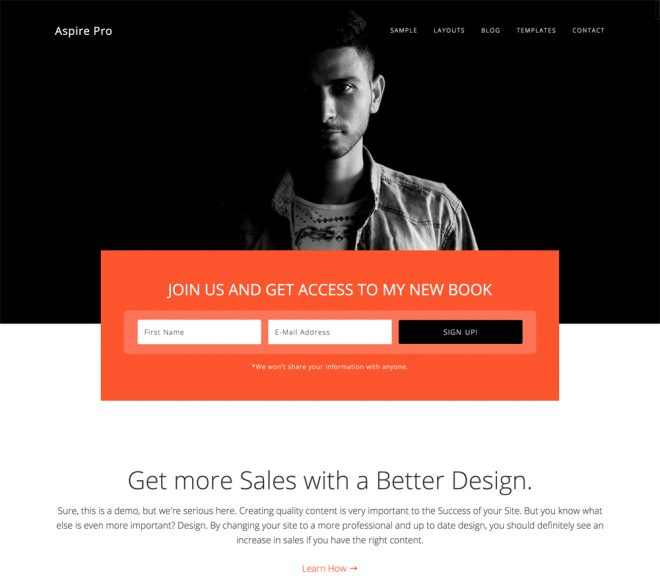 StudioPress Aspire Pro Genesis WordPress 主题