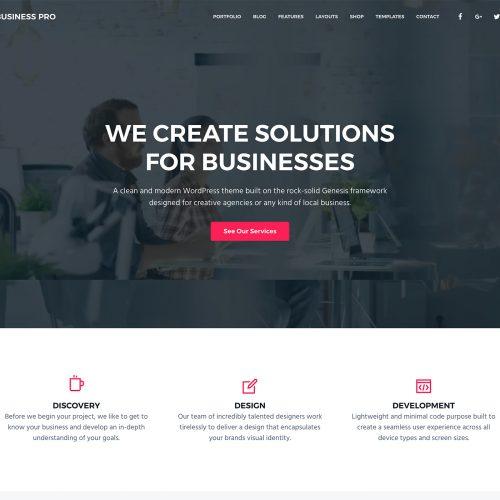 Business Pro 主题