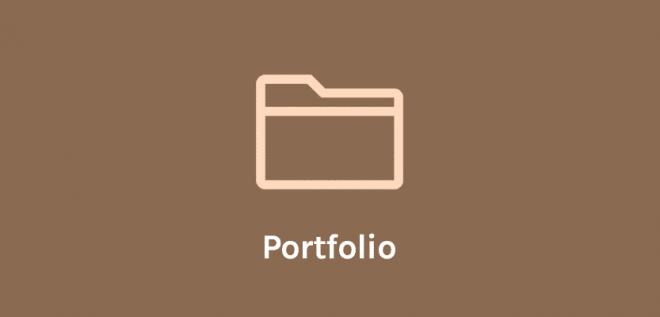 OceanWP Portfolio 扩展