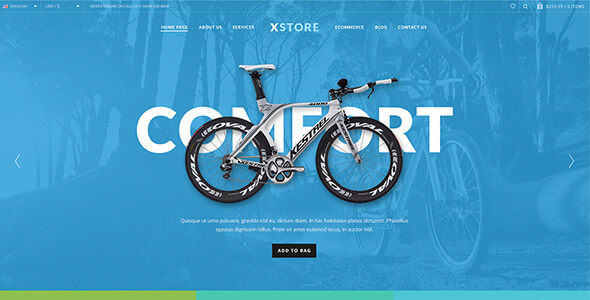 XStore 响应式多用途WooCommerce WordPress主题4