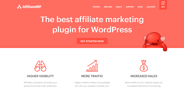 AffiliateWP WordPress网站联盟营销插件