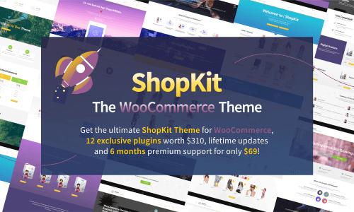 ShopKit WooCommerce电商主题