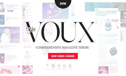 VOUX WordPress主题 – 综合杂志主题