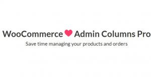 Admin Columns Pro – Woocommerce Addon