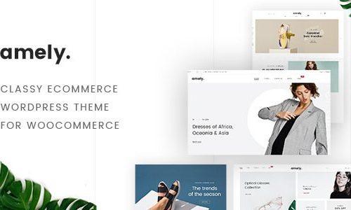 WooCommerce Amely - Fashion Shop WordPress Theme | 时尚商城主题