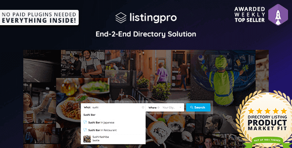 ListingPro – Directory Wordpress Theme 目录网站主题