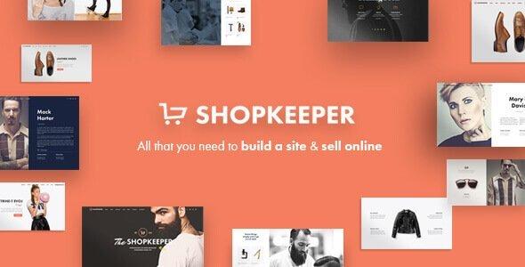 Shopkeeper - eCommerce WordPress Theme for WooCommerce 电子商务主题
