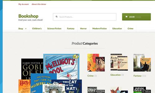 Storefront Bookshop WooCommerce主题