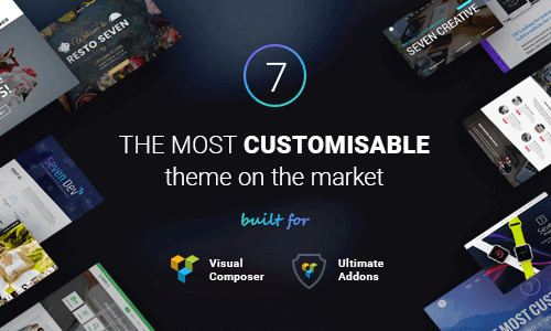 The7 – Responsive Multi-Purpose Wordpress Theme 响应式多用途WordPress主题