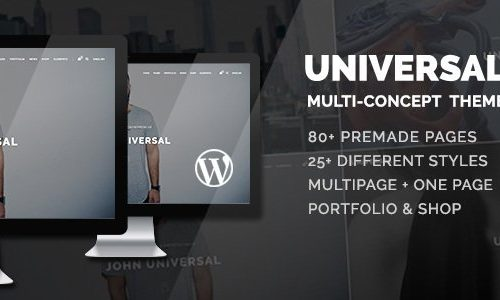 Universal - Smart Multi-Purpose WordPress Theme 聪明的多用途WordPress主题