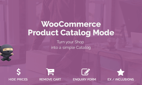 电商系统产品目录模式 Woocommerce Product Catalog Mode
