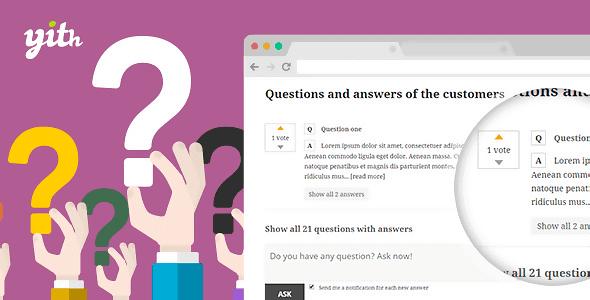 电商系统问答插件Yith Woocommerce Questions And Answers Premium