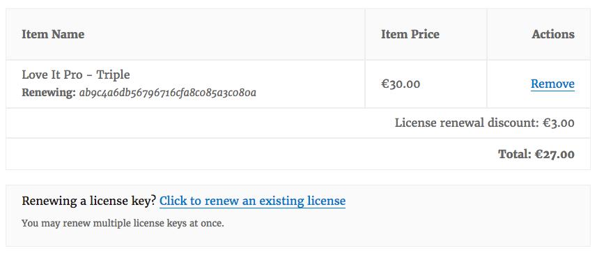 Easy Digital Downloads Software Licensing EDD软件许可插件