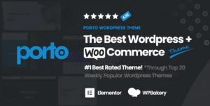 Porto Wordpress Woocommerce Theme 响应式WordPress电商网站主题