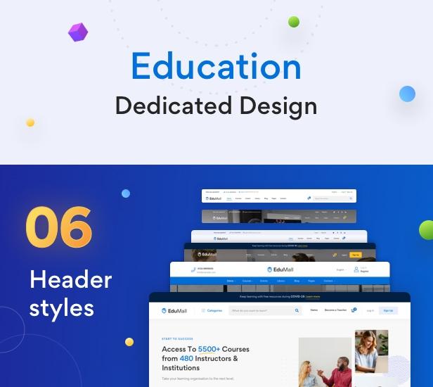 EduMall - Professional LMS Education Center WordPress Theme - 33