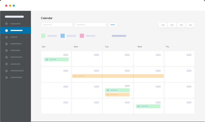 wp project pro calendar