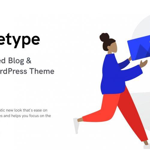 Squaretype主题 | 基于内容的现代博客和杂志WordPress主题
