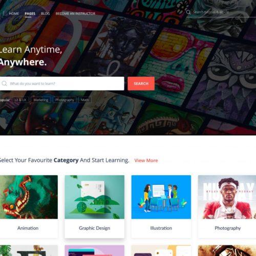 Skillate WordPress 在线培训和电子学习主题