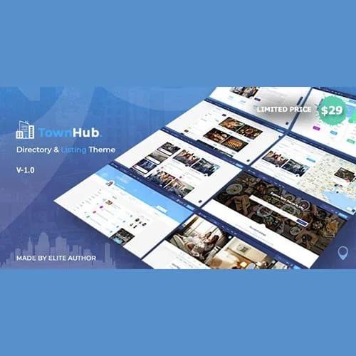 TownHub 目录和列表 WordPress 主题