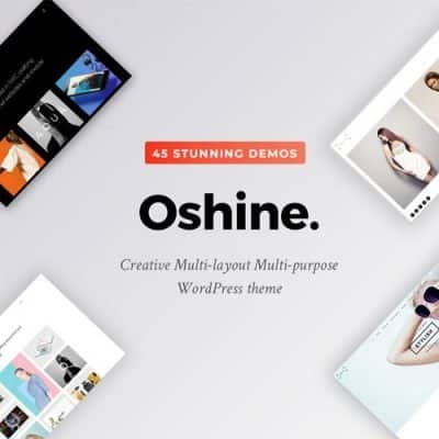 Oshine Theme WordPress 多用途创意主题